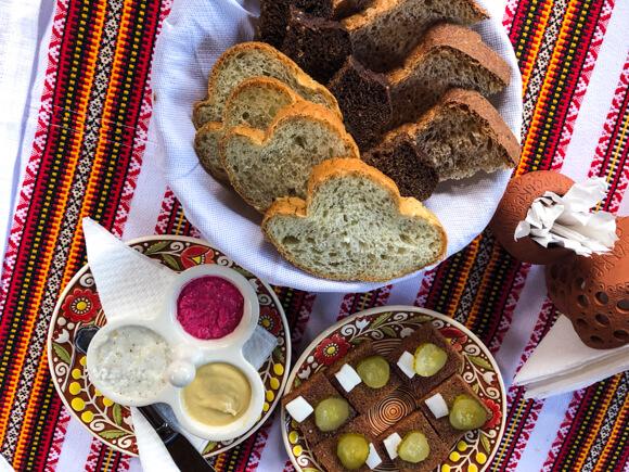 Tasting beets and borscht in Ukraine