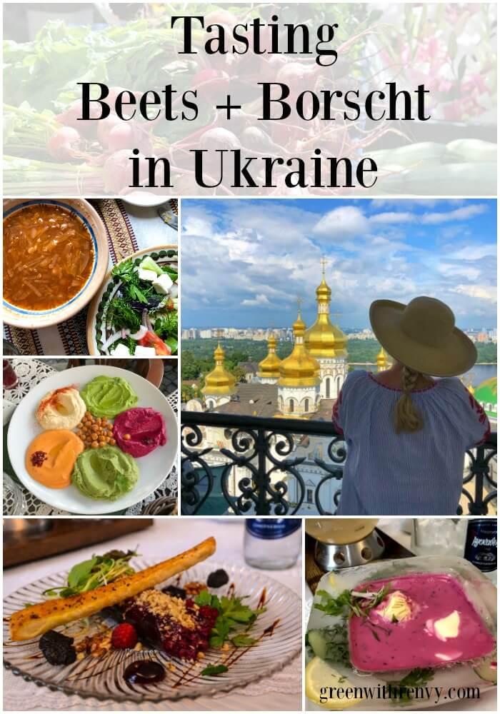 beets and borscht in Ukraine