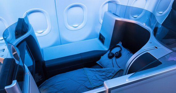 JetBlue lie flat seats