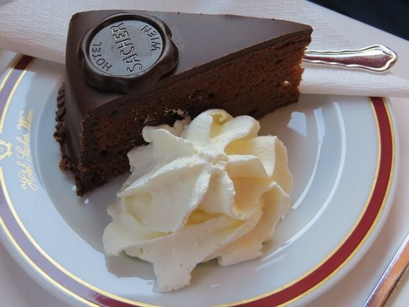 Vienna for couples sacher torte