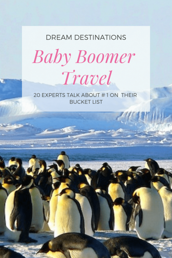 Top Baby Boomer Travel dream destinations Around the World