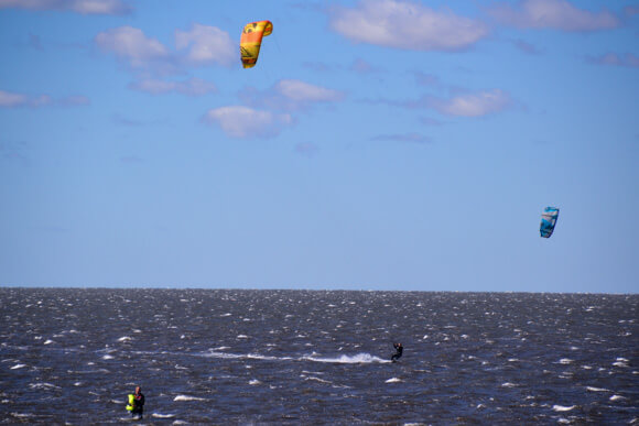 Kite surfing Outer Banks North Carolina