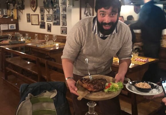 Eating Europe Food tour in Florence
