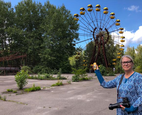 Ferris Wheel Chernobyl Tours Dark Tourism amusement park