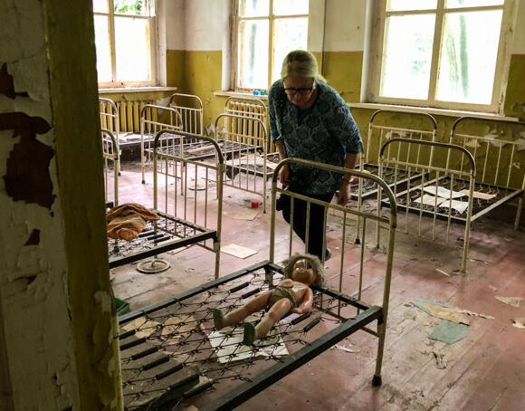 Kindergarten at Chernobyl Tours Dark Tourism kindergarten