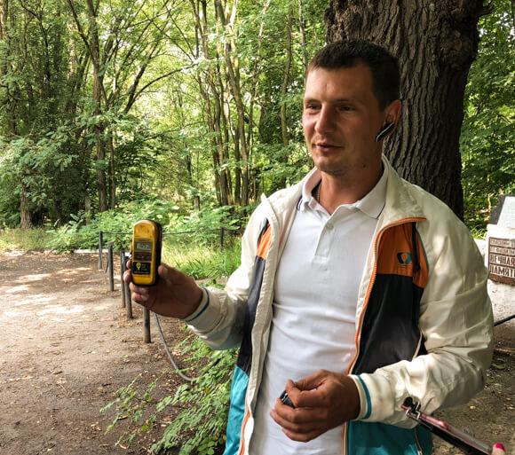Guide Nazar Vilchynskyi on Chernobyl Tour