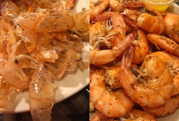 Peel and eat shrimp from Diamond Shoals