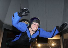 A SkyDive Wind Tunnel Adventure