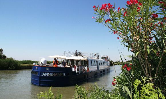hotel barge cruise southern France