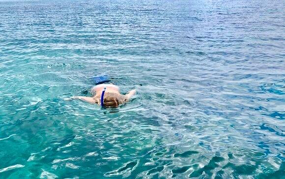snorkling in Zanzibar