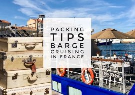 Ten Packing Tips for A Barge Cruise