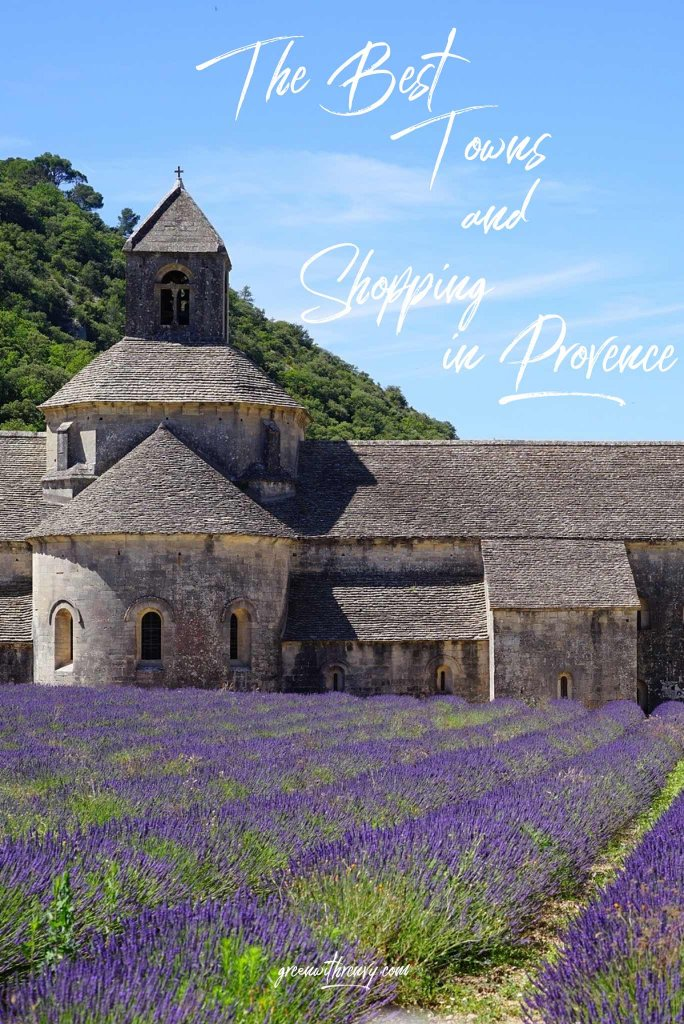 The Best Towns in Provence for shopping