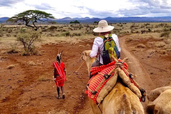 camel safari with guide