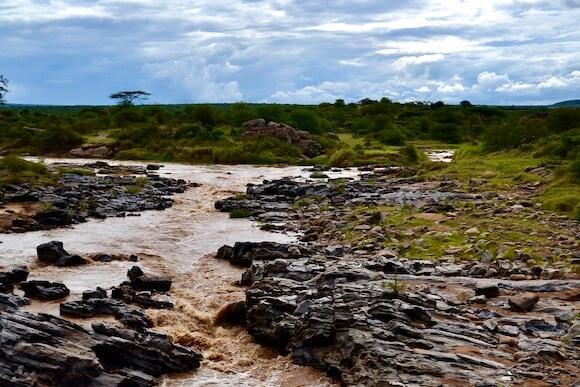 river in Loisaba Conservancy