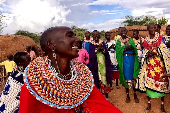 samburu female villagers