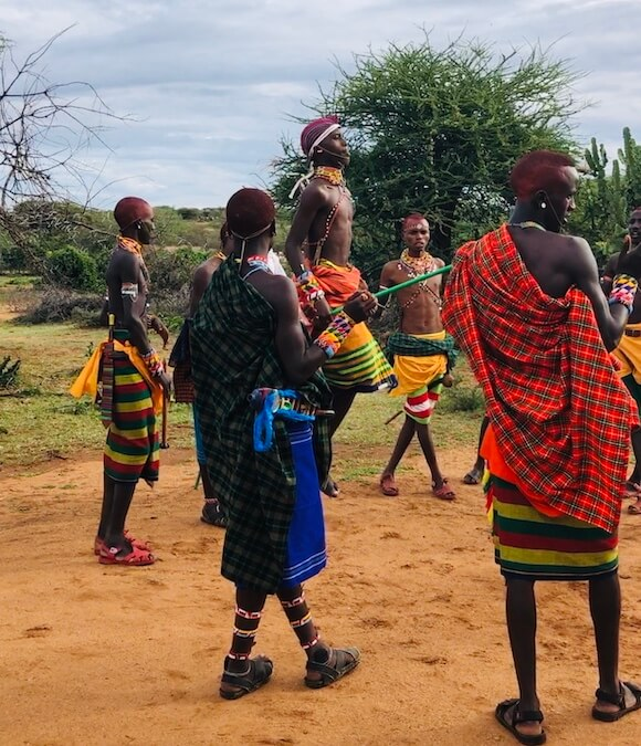 Samburu adamu dance