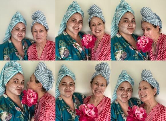 women homemade face scrubs