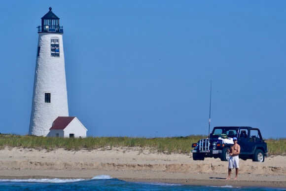 beach in Nantucket Great Point