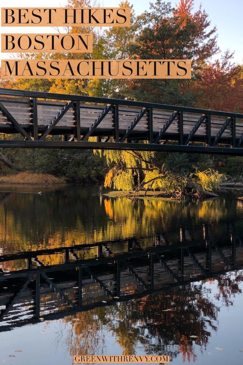 Bridge over river in Boston