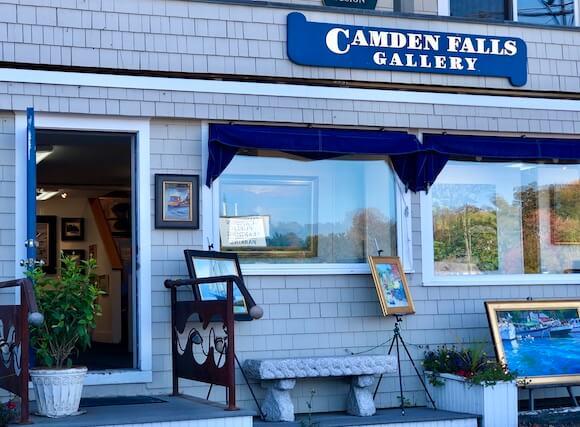 Midcoast Maine art gallery