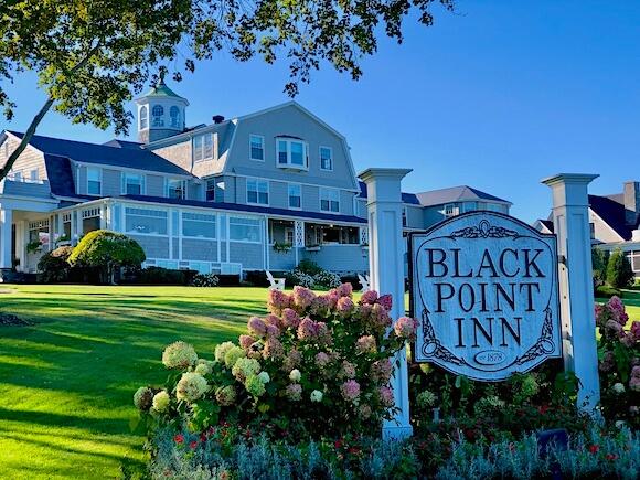 entry of Black Point Inn