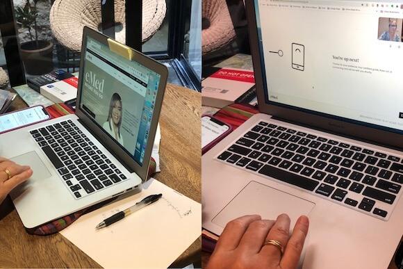 Online covid-19 testing